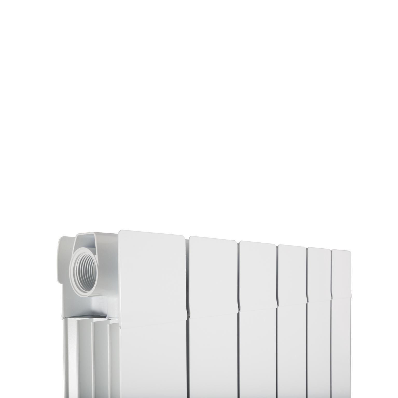 Radiatore acqua calda PRODIGE Superior in alluminio 6 elementi interasse 180 cm - 2