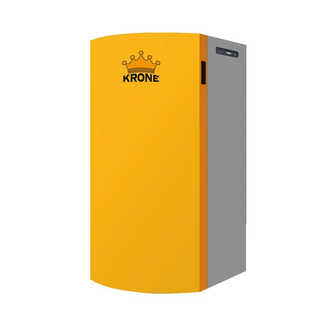 Caldaia a pellet BOILER34KR-PA arancio e grigio 31.2 W - 1