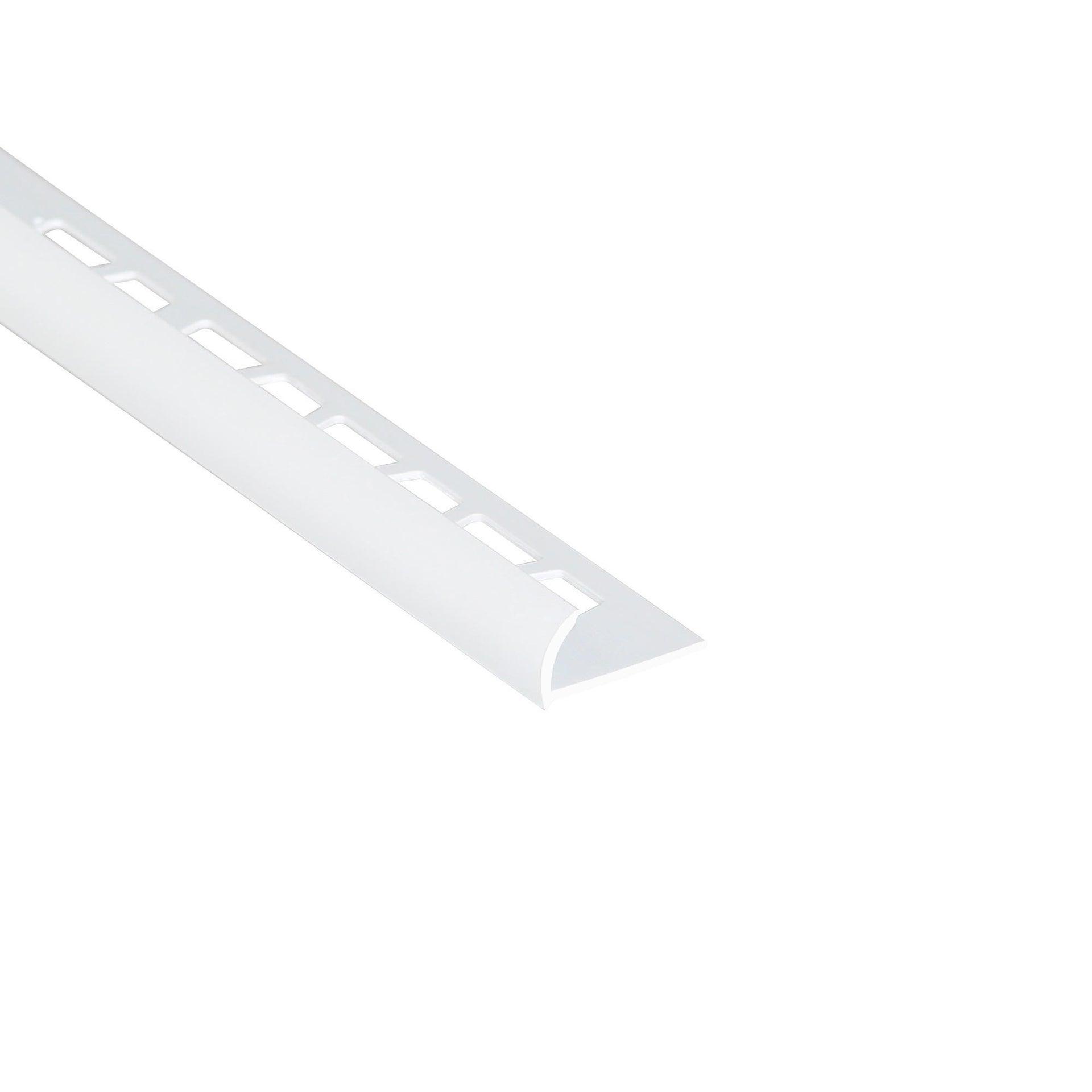 Profilo angolare interno in pvc Sp 25 mm L 250 cm bianco - 3