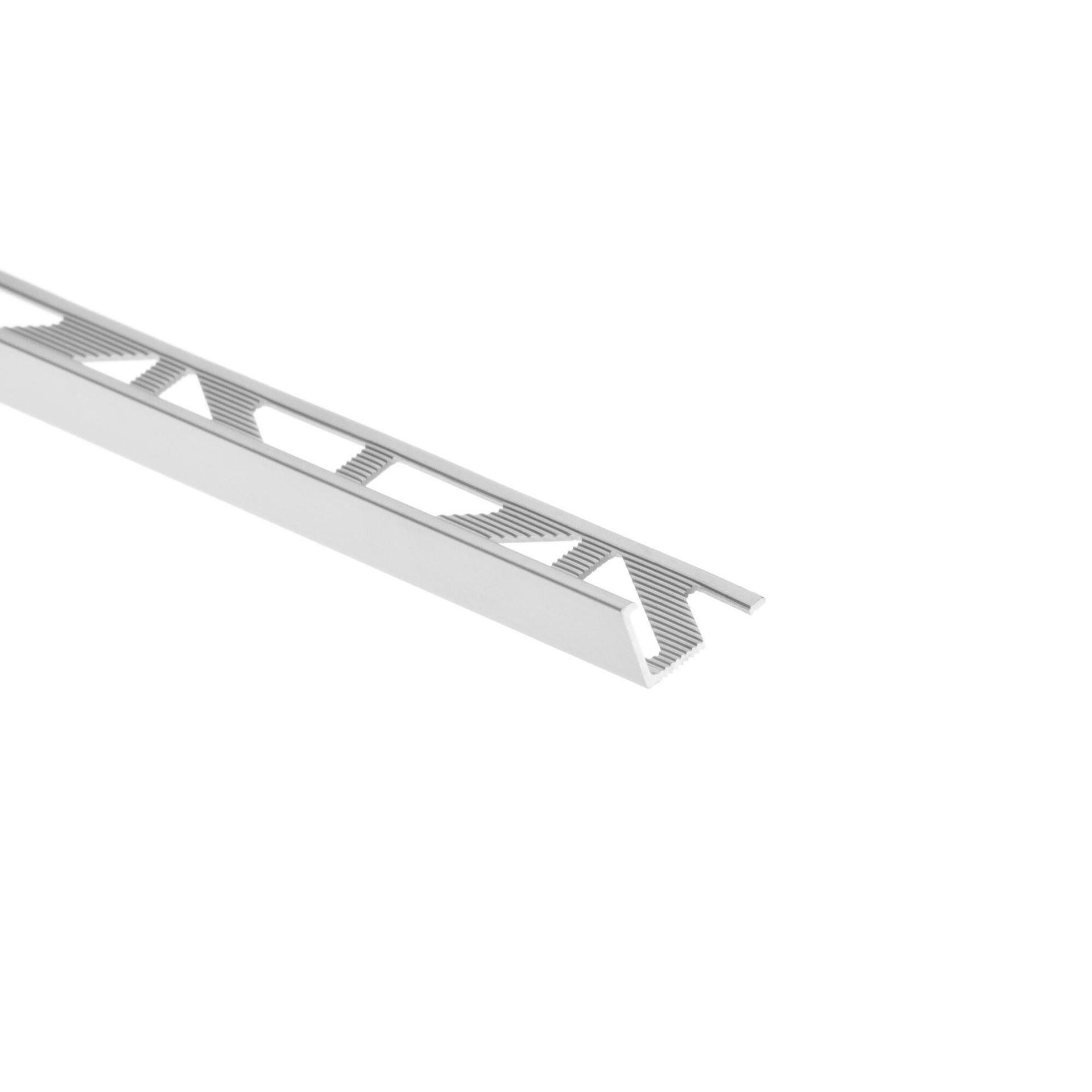 Profilo angolare interno in alluminio anodizzato Sp 17.4 mm L 250 cm grigio - 2