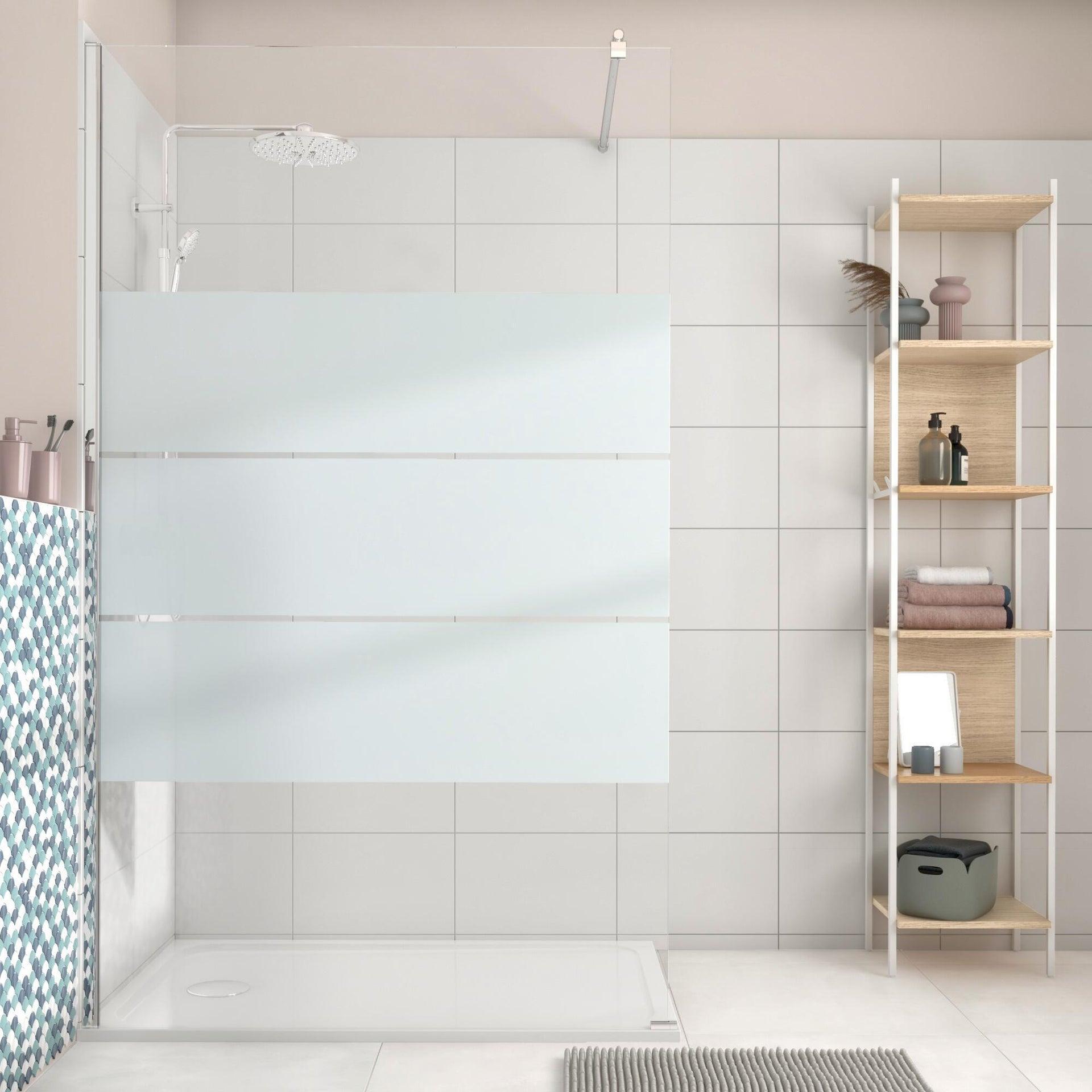 Piatto doccia resina sintetica e polvere di marmo Easy 80 x 120 cm bianco - 7