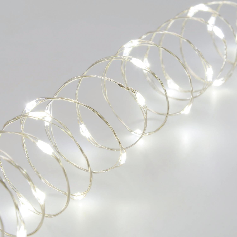 Catena luminosa 300 lampadine LED bianco freddo 22.5 m - 1