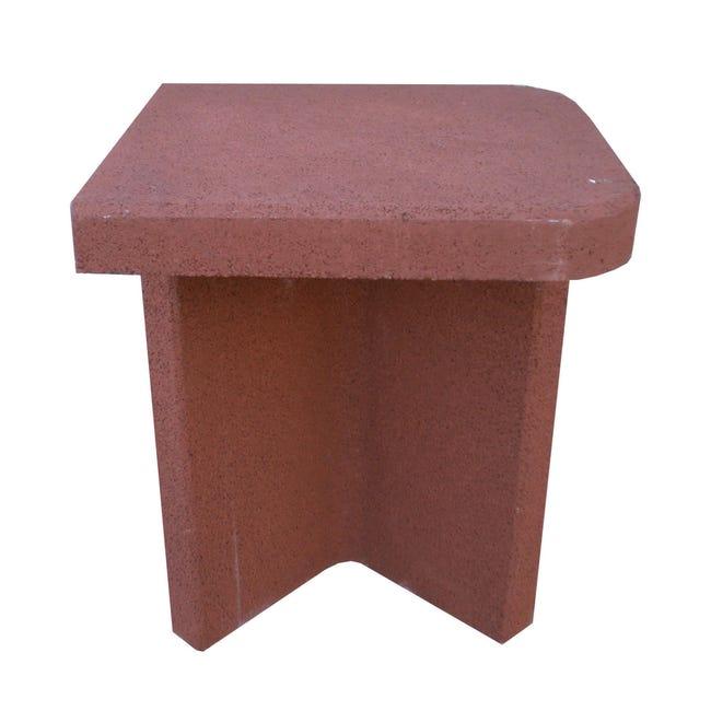 Tavolino di servizio laterale L 60 x P 54 x H 78 cm - 1