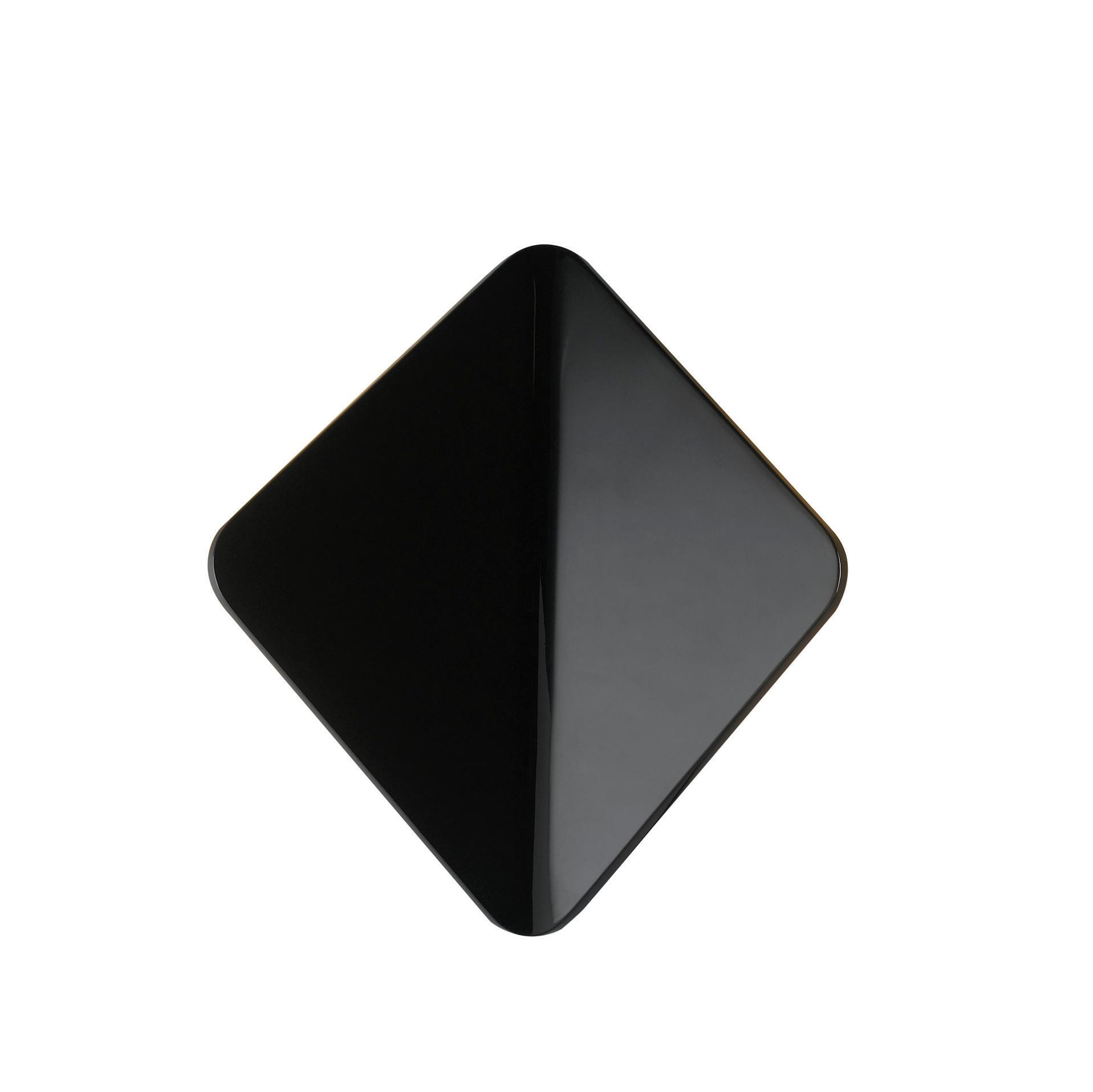 Applique Kite LED integrato in alluminio, nero, 40W 550LM IP54 INTEC - 5