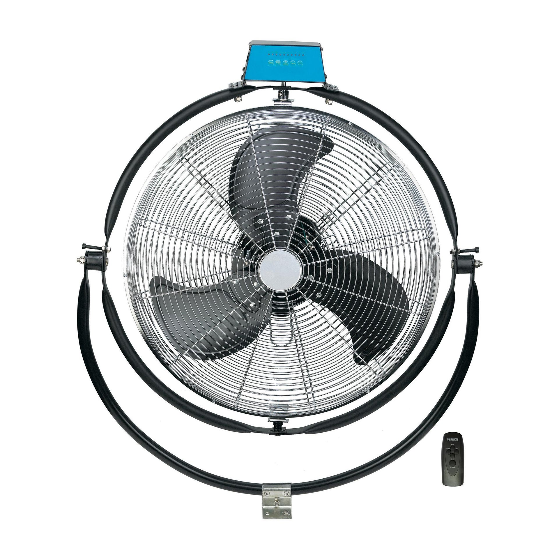 Ventilatore a parete EQUATION SFW1A500BOWRC cromo silver 111 W Ø 50 cm - 1