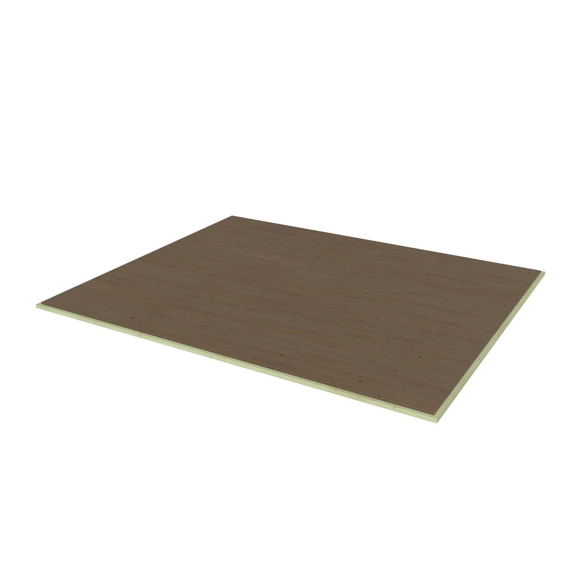 Pavimento per casetta da giardino Azalea DECOR ET JARDIN 332.4 x 300 x 45 cm - 1