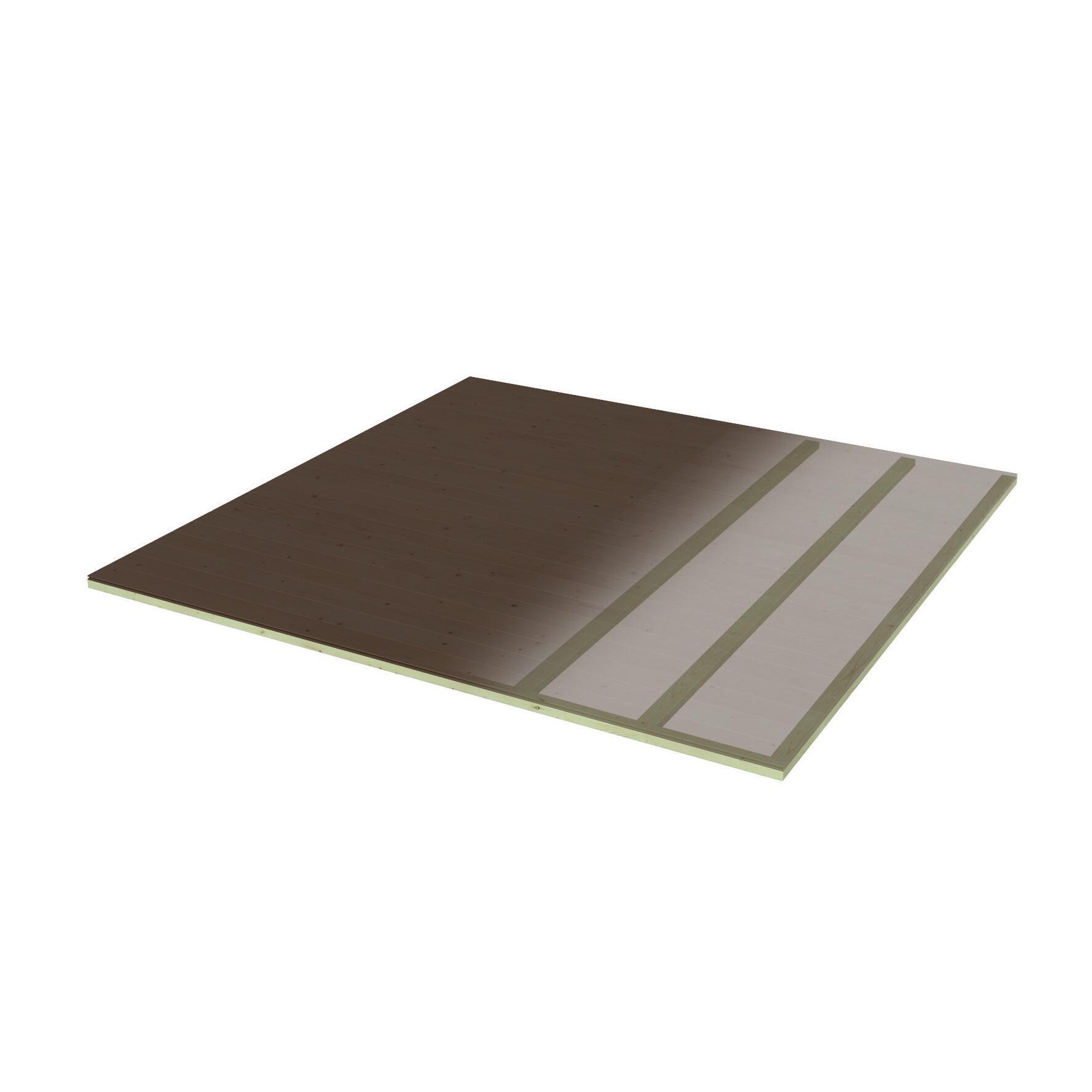 Pavimento per casetta da giardino Viola DECOR ET JARDIN 241.4 x 250 x 45 cm - 1