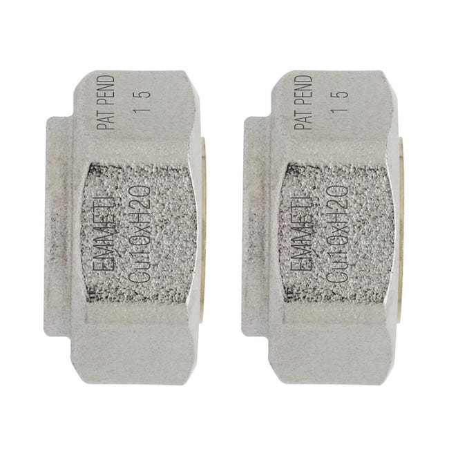 Adattatore per tubo in rame Emmeti Ø 12 mm - 1