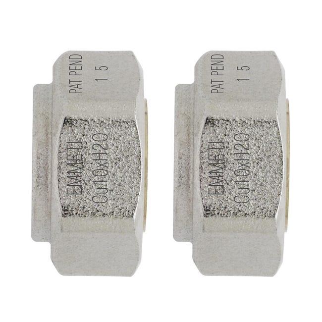 Adattatore per tubo in rame Ø 10 mm - 1