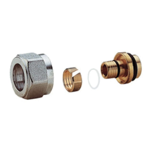 Adattatore per tubo multistrato Giacomini Ø 14 mm - 1