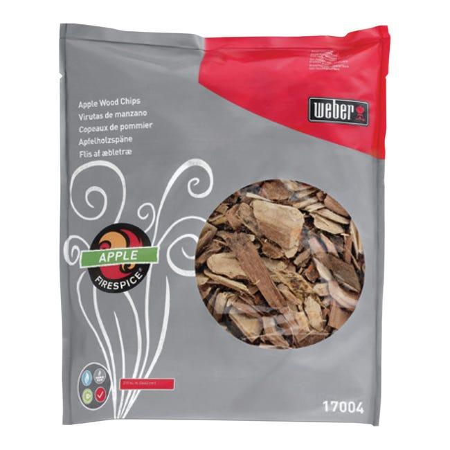 Truccioli di legno per affumicatura WEBER Melo 0.7 kg - 1