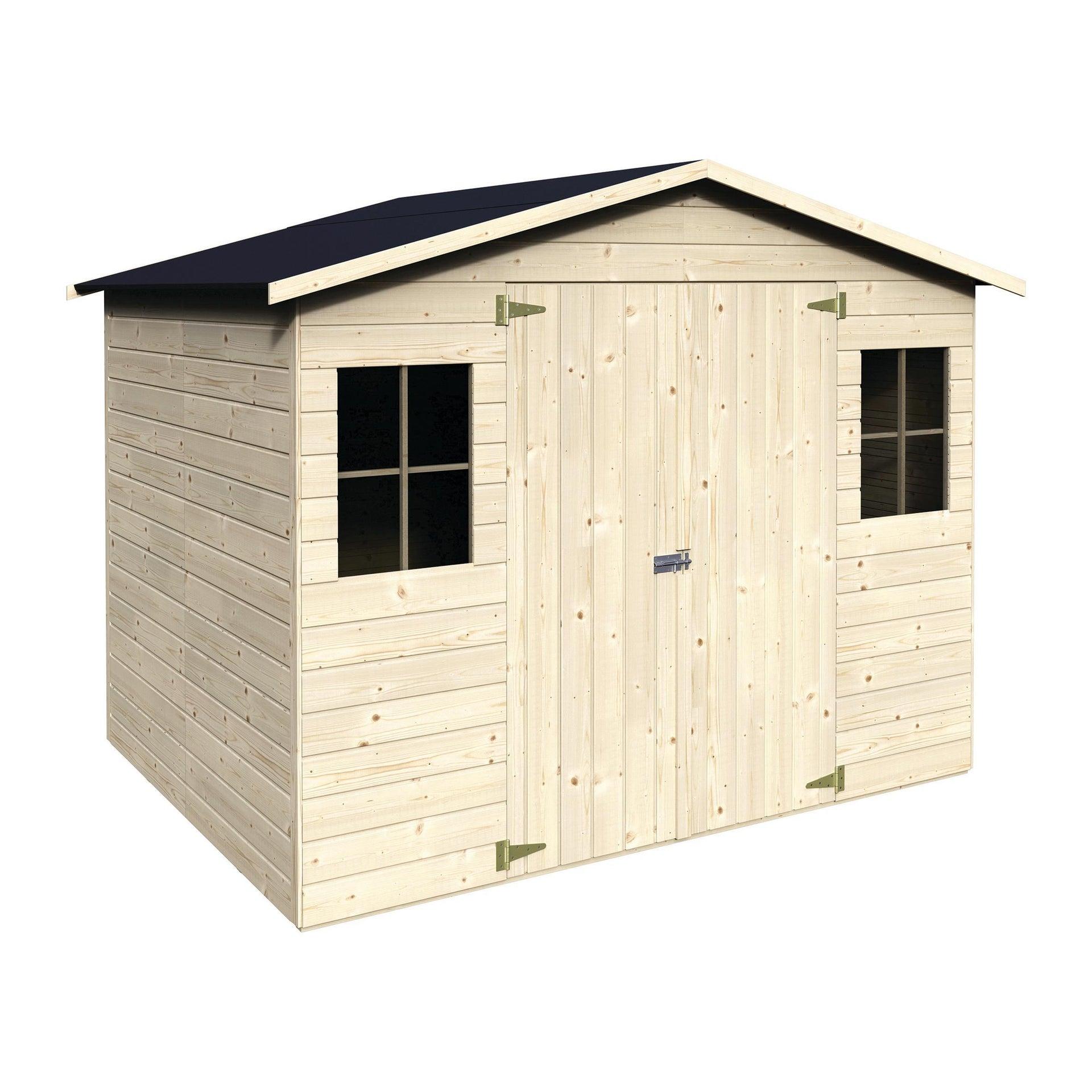Casetta da giardino in legno Bouganvillea, superficie interna 4.32 m² e spessore parete 12 mm - 3