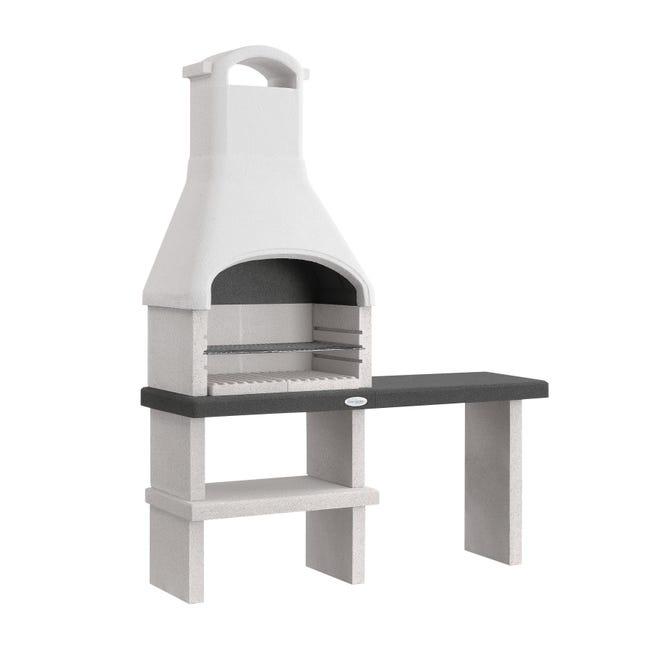 Barbecue in cemento refrattario PALAZZETTI L 59 x P 59 x H 216 cm - 1