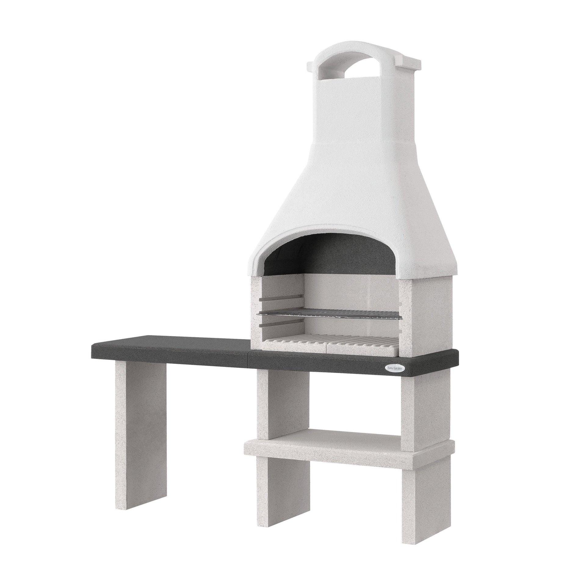 Barbecue in cemento refrattario PALAZZETTI L 59 x P 59 x H 216 cm - 3