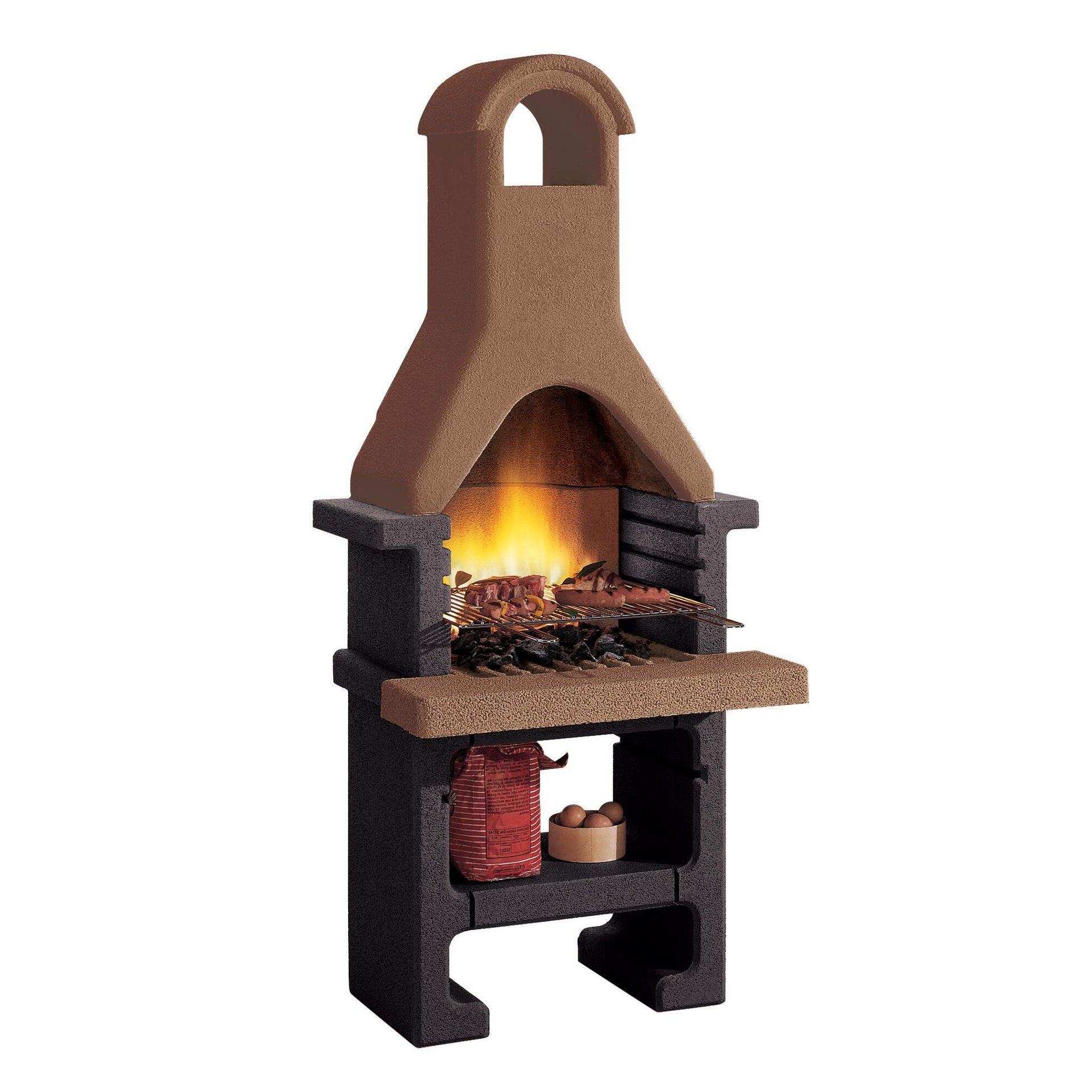 Barbecue a carbonella PALAZZETTI IN GIARDINO Pantelleria 40 cm - 1