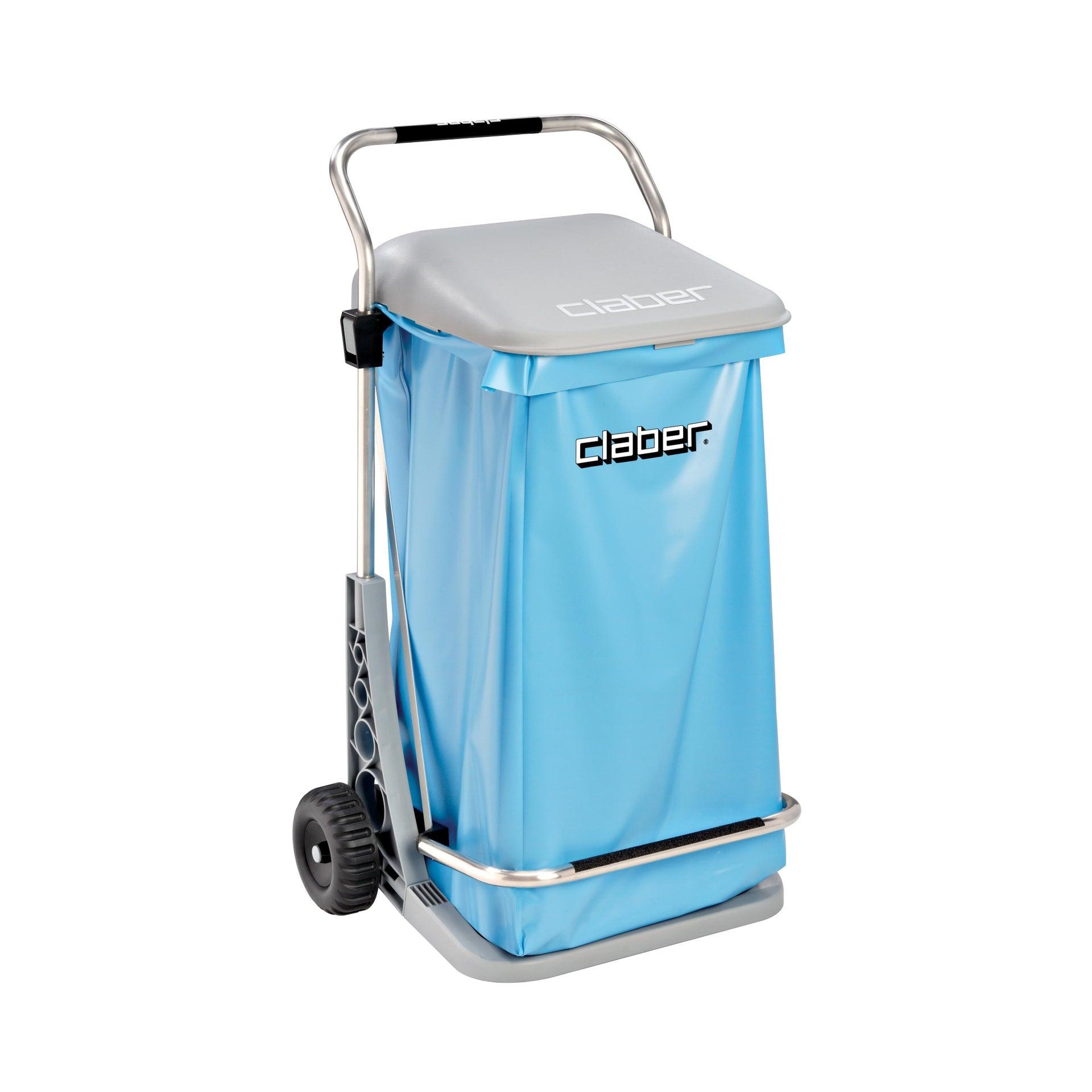 Pattumiera in polipropilene CLABER Carry Cart Comfort 70 L, 2 ruote - 1