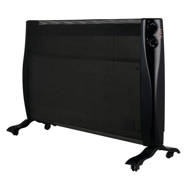 Convettore mobile elettrico EQUATION nero 2000 W - 1