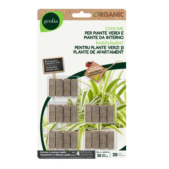 Concime bastoncini GEOLIA Organic 20 Pz - 1