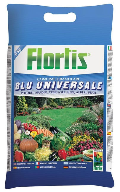 Concime granulare FLORTIS Blu 5 Kg - 1