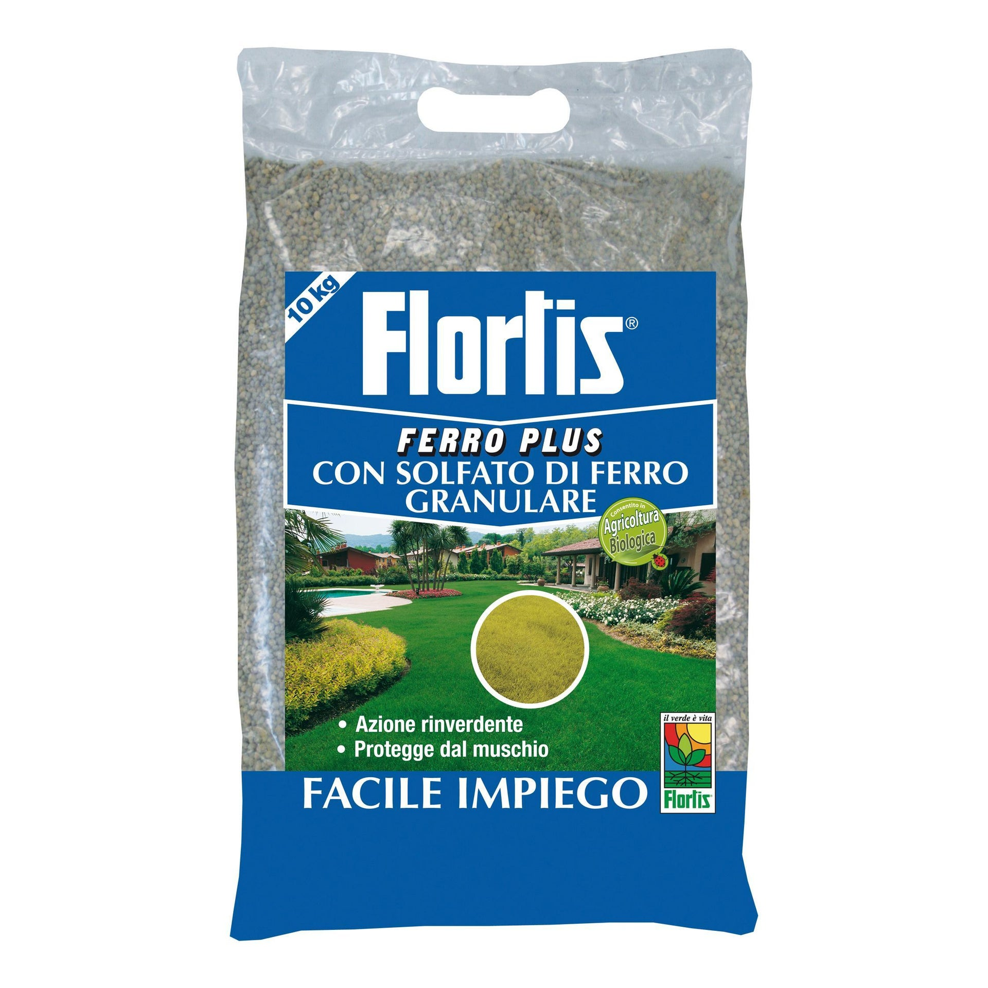 Concime granulare FLORTIS Ferro plus 10 kg - 1