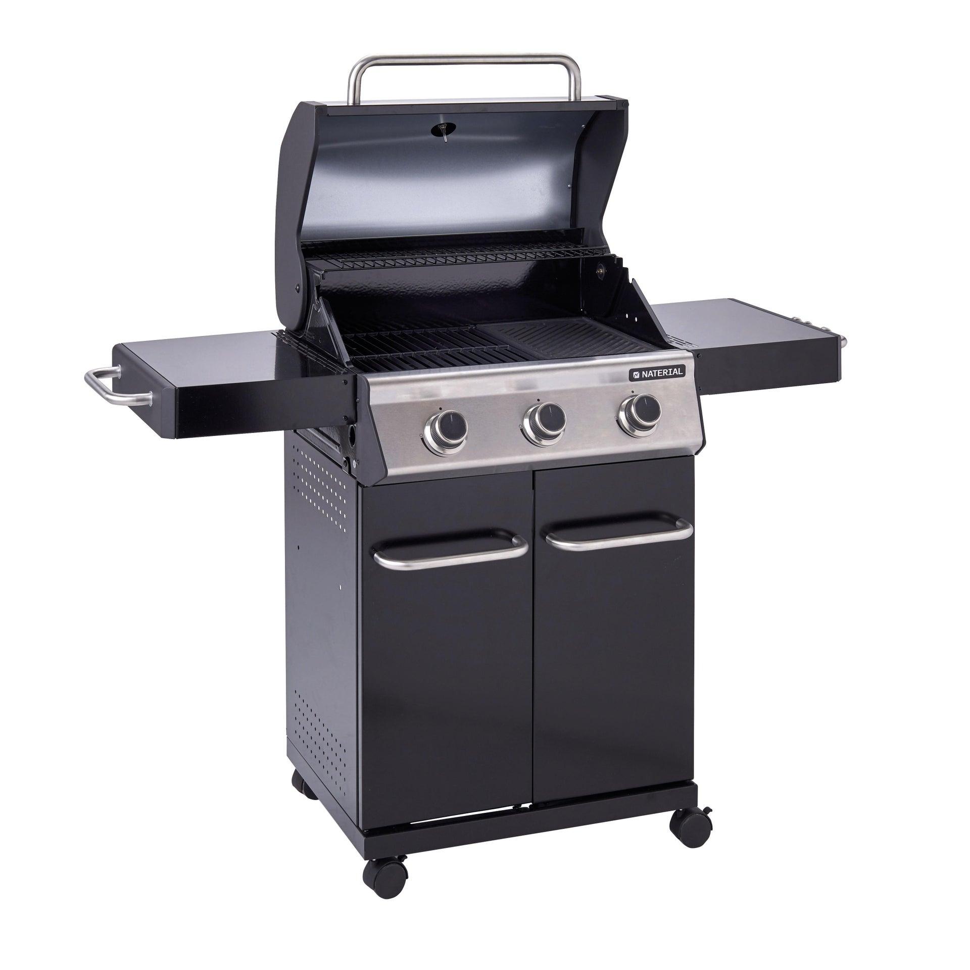 Barbecue a gas NATERIAL Kenton 3 bruciatori - 5