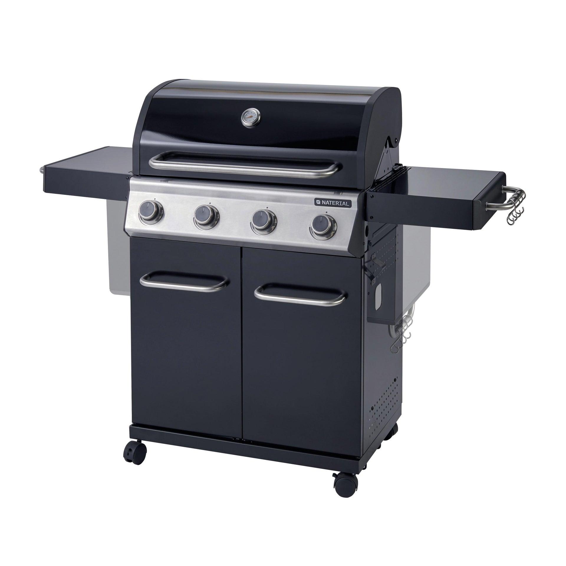 Barbecue a gas NATERIAL Kenton 4 bruciatori - 1