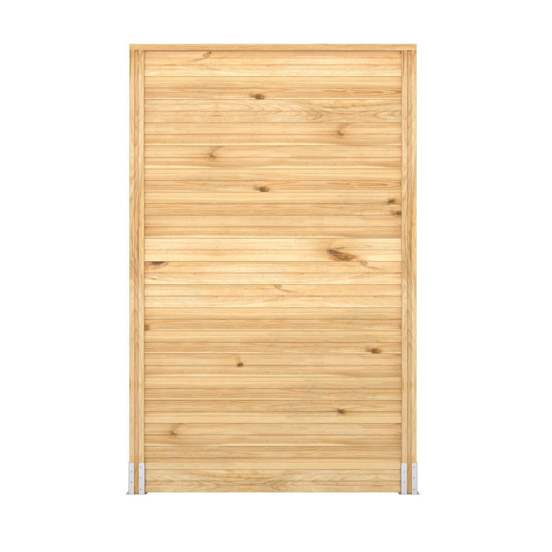 Profilo di chiusura eagle in legno H 3 x L 135 cm - 4