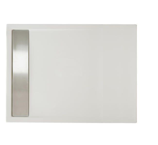 Piatto doccia acrilico Bali 120 x 70 cm bianco - 1