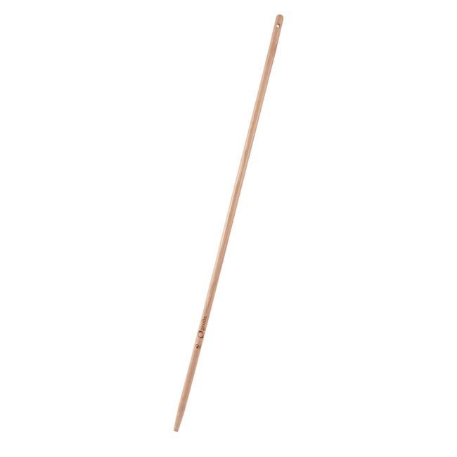 Manico per rastrello GEOLIA in legno L 150 cm, Ø 28 - 1