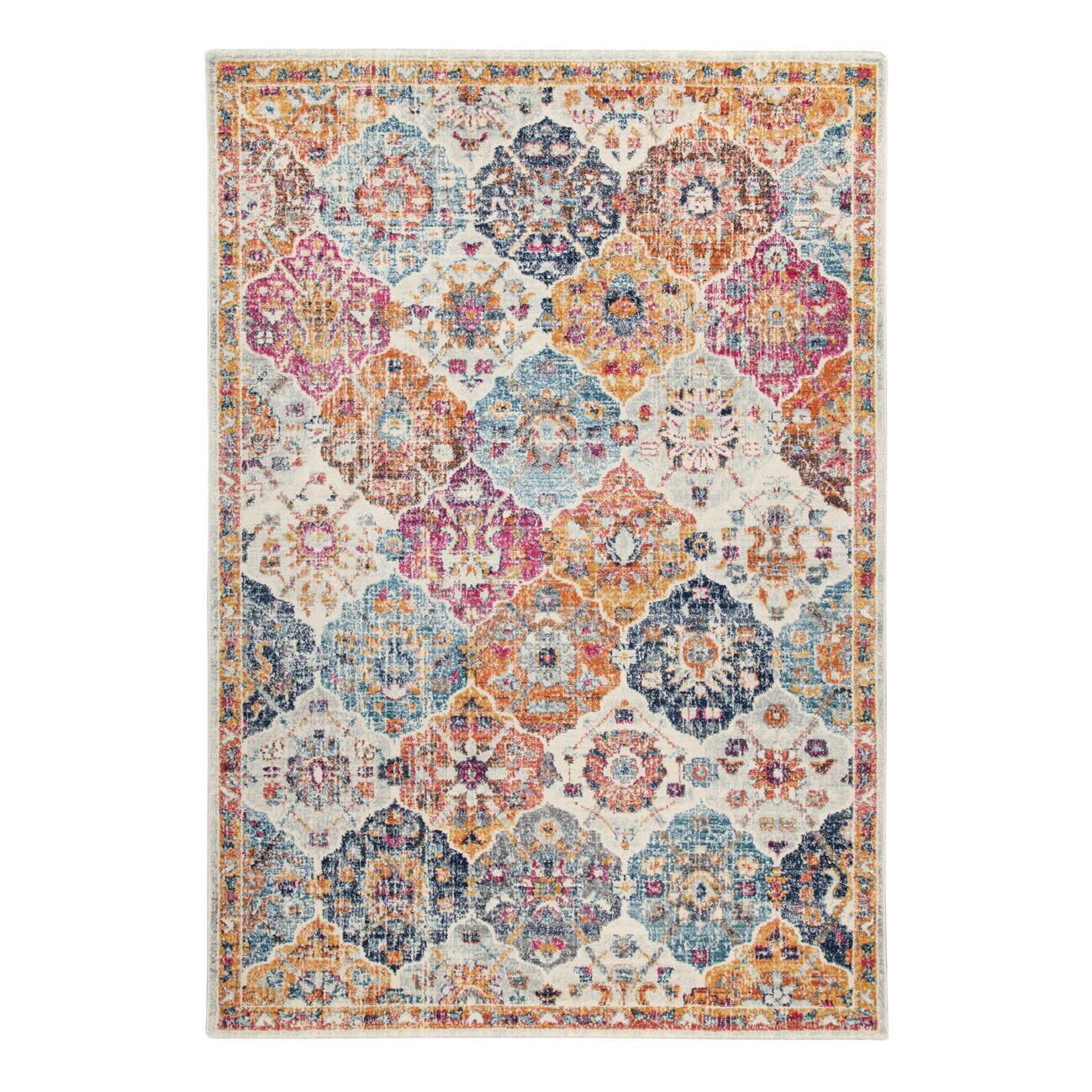 Tappeto Eileen tiles , colori assortiti, 66x110