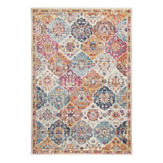 Tappeto Eileen tiles , colori assortiti, 66x110 - 1