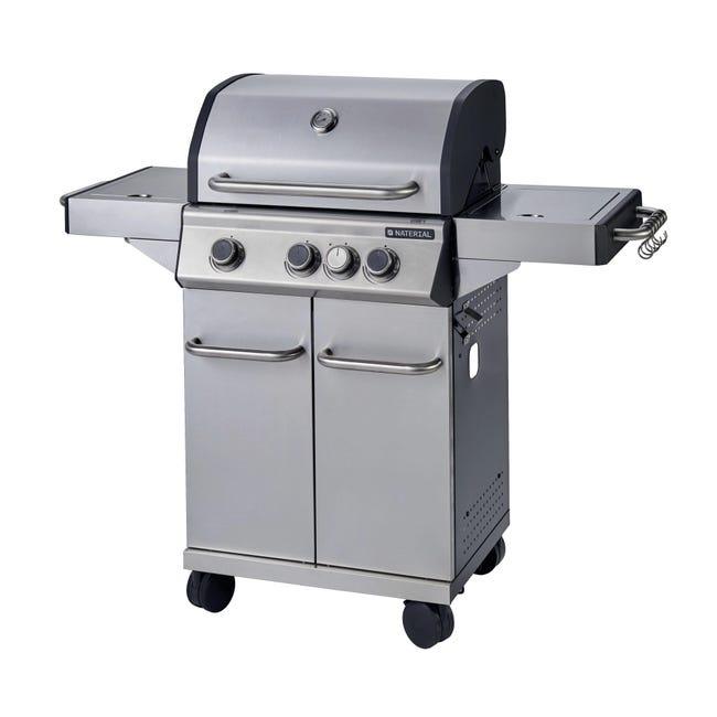 Barbecue a gas NATERIAL Hudson 3 bruciatori - 1