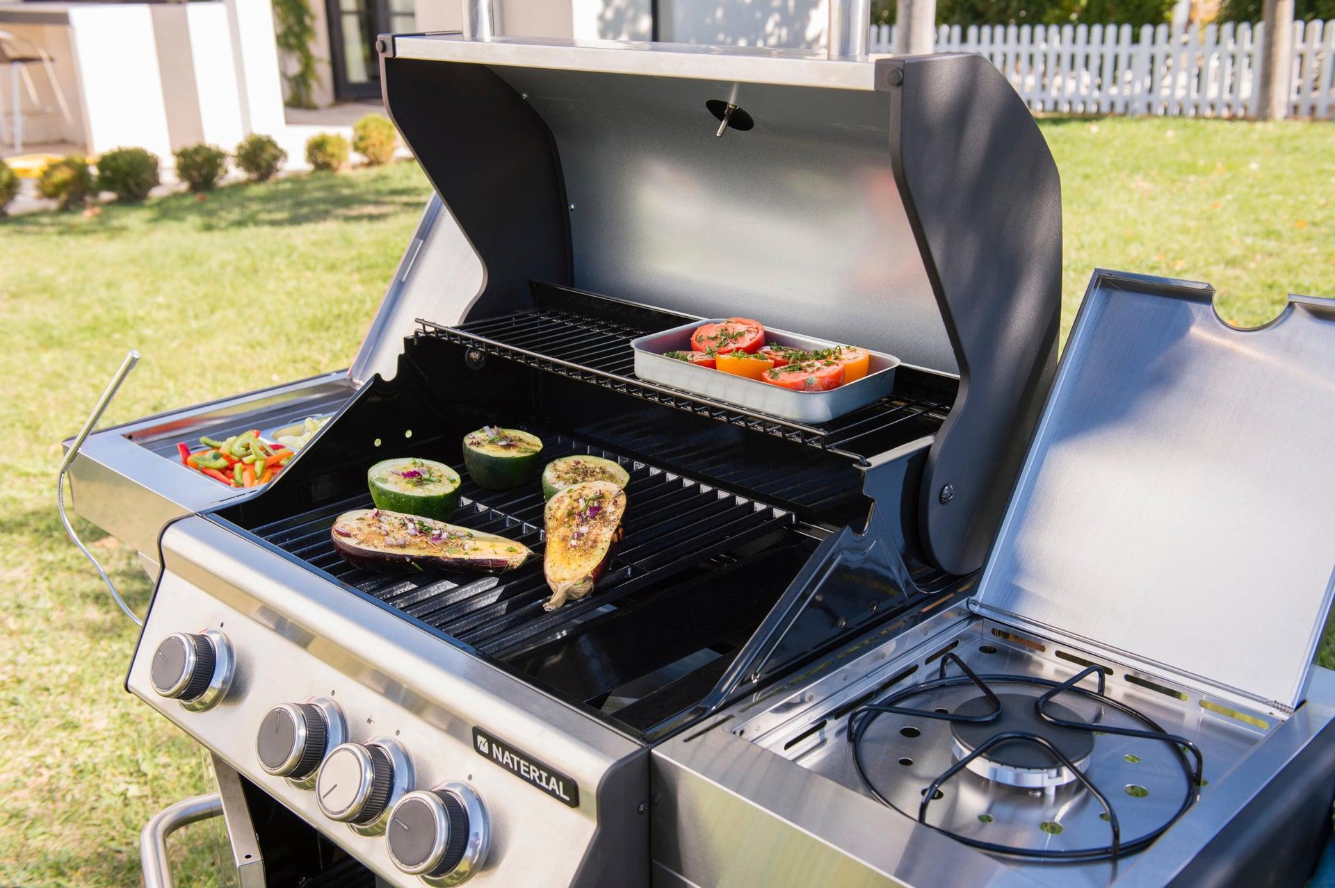 Barbecue a gas NATERIAL Hudson 3 bruciatori - 10