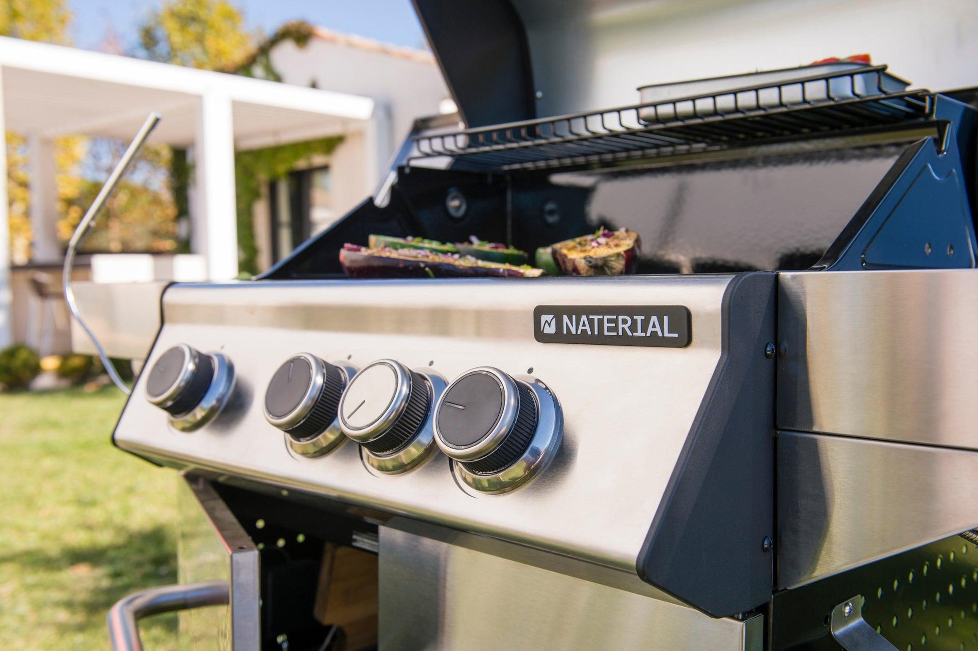 Barbecue a gas NATERIAL Hudson 3 bruciatori - 3