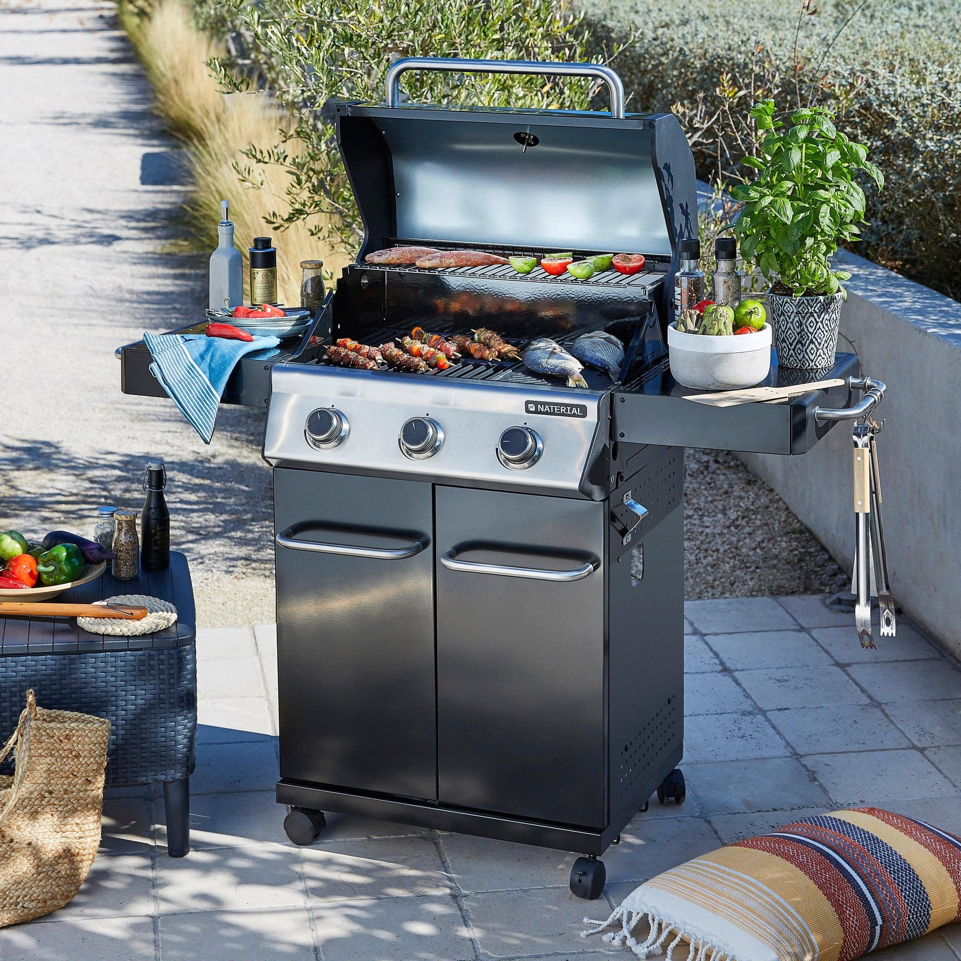 Barbecue a gas NATERIAL Hudson 3 bruciatori - 11