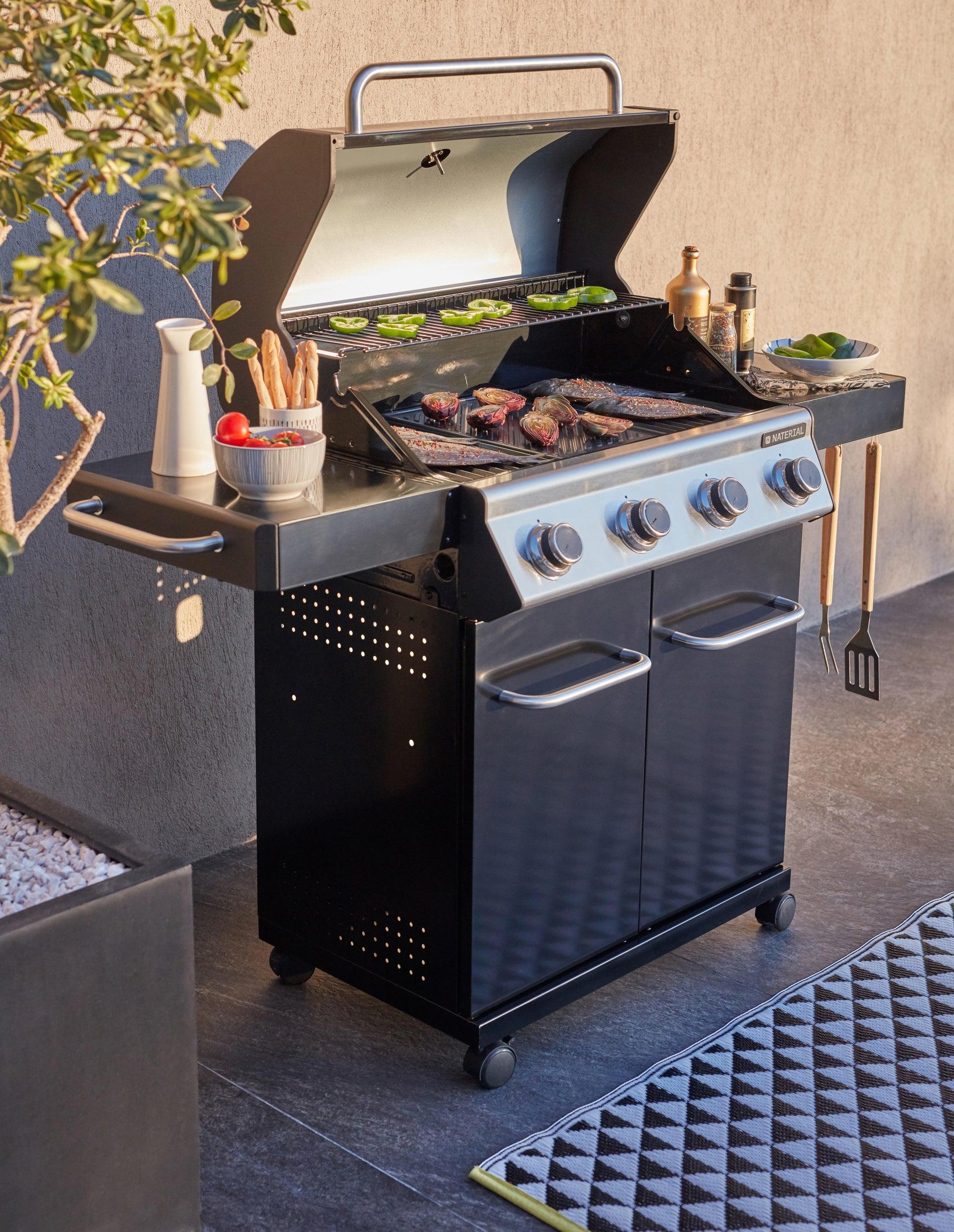 Barbecue a gas NATERIAL Kenton 4 bruciatori - 4