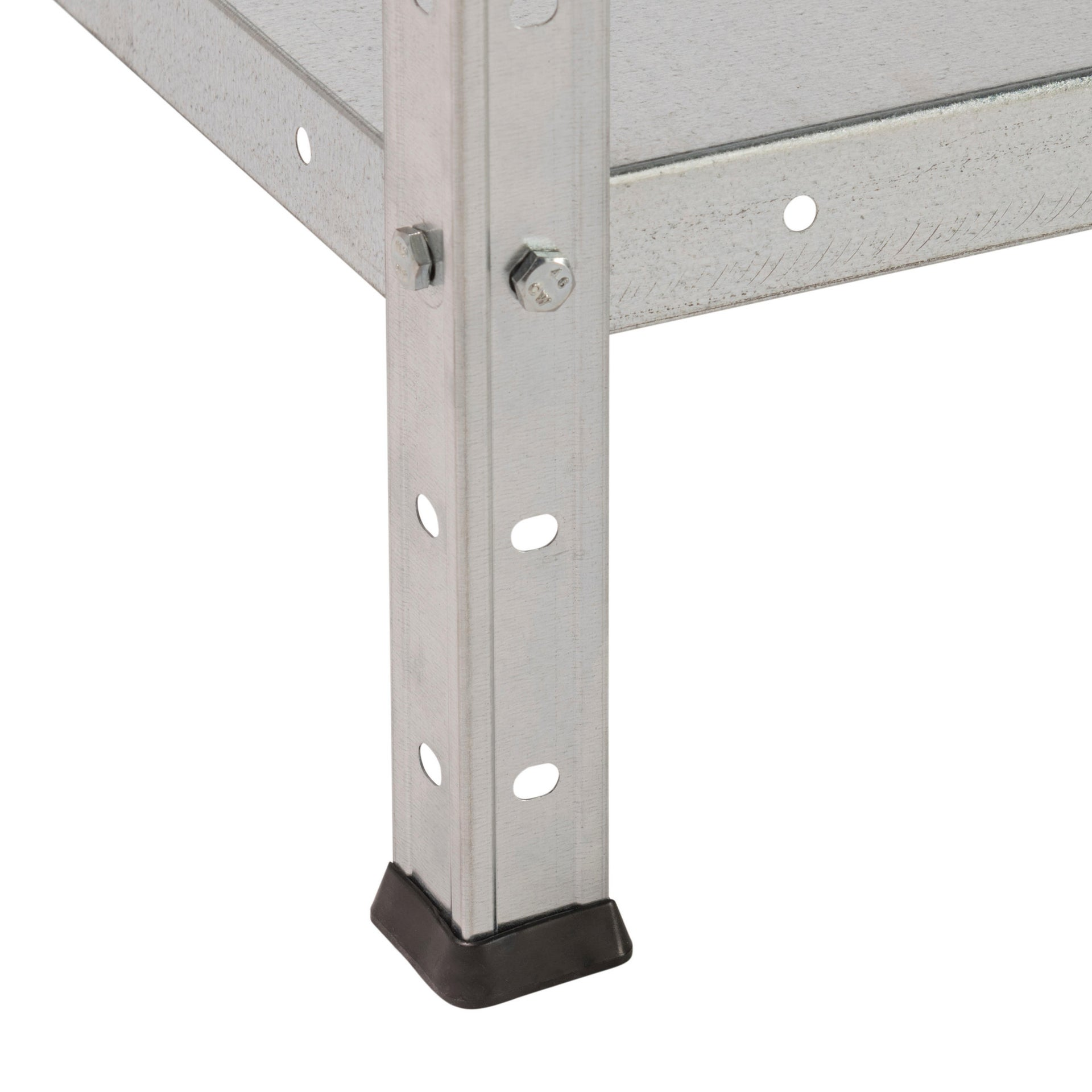 Scaffale in metallo in kit Bull L 72.5 x P 30 x H 145 cm grigio - 3