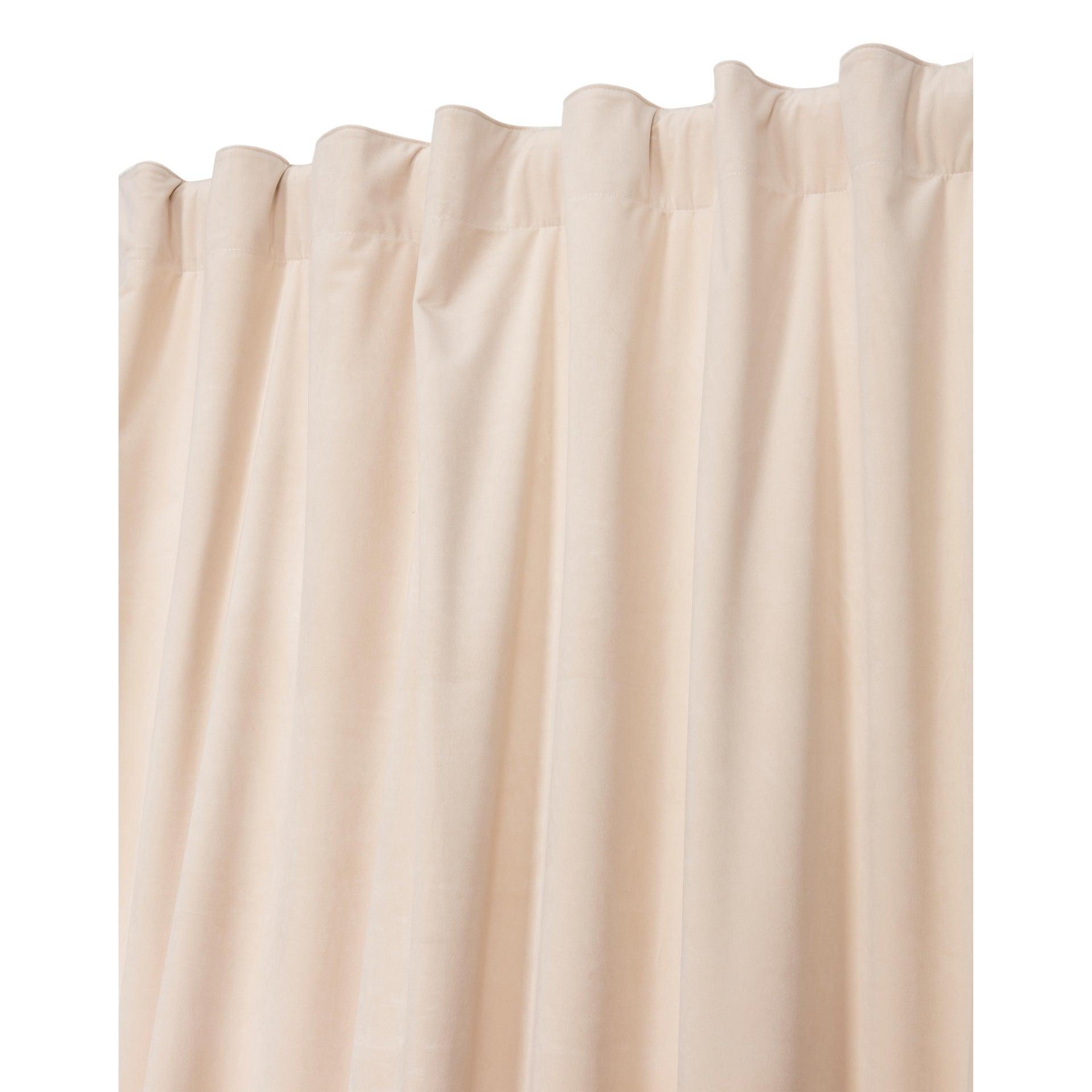 Tenda Misty ecrù passanti nascosti 135 x 280 cm - 5