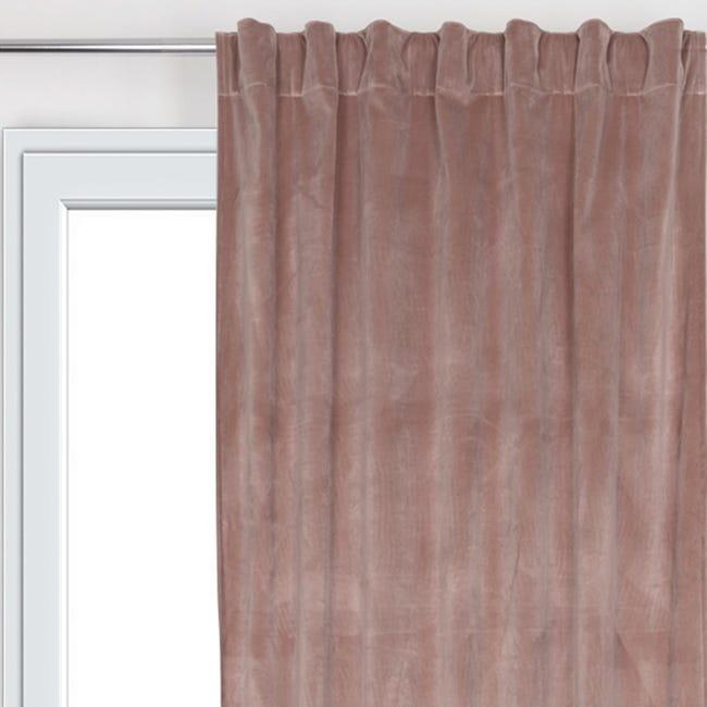 Tenda Misty rosa fettuccia 135 x 280 cm - 1