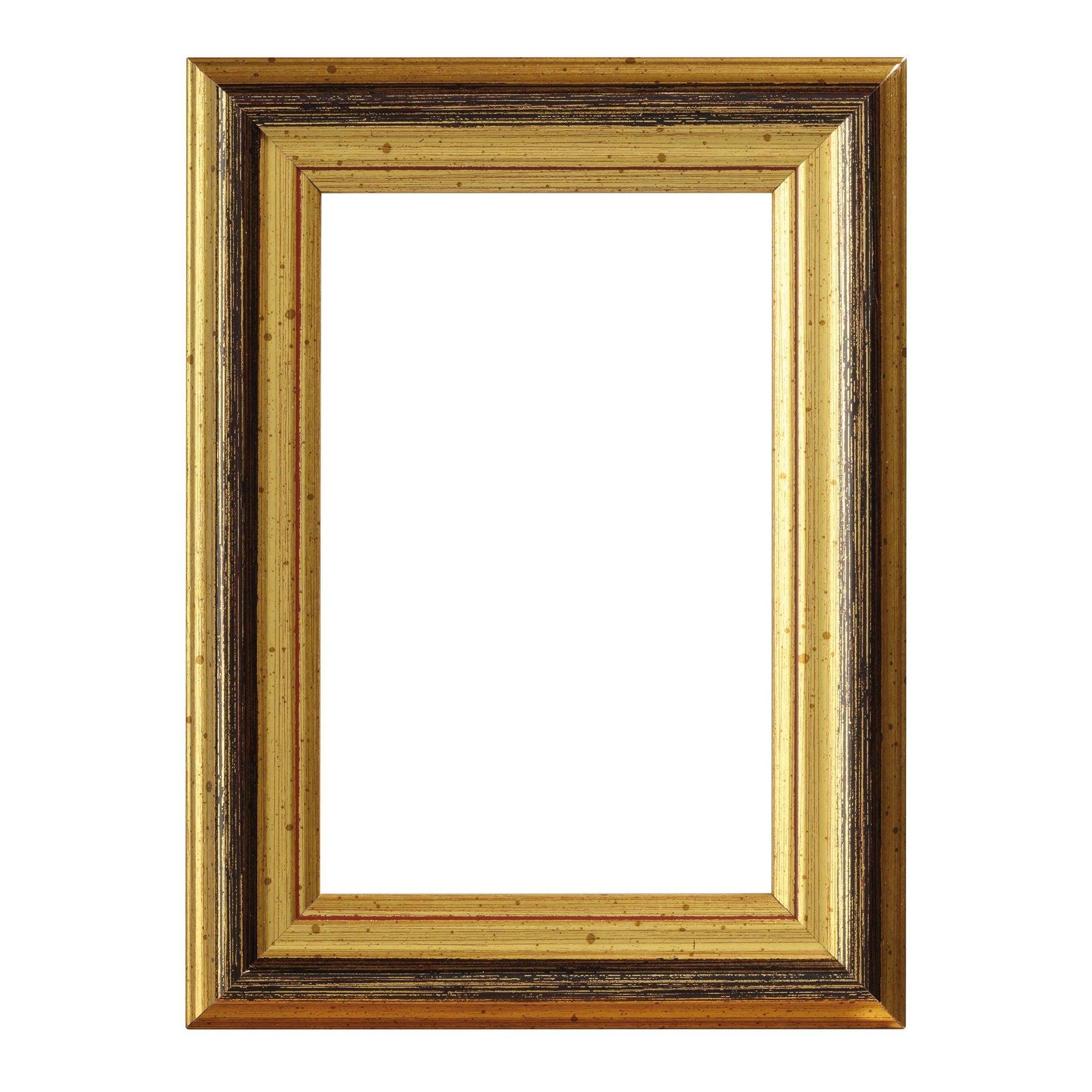Cornice INSPIRE Beta oro<multisep/>rosso per foto da 30x45 cm - 1