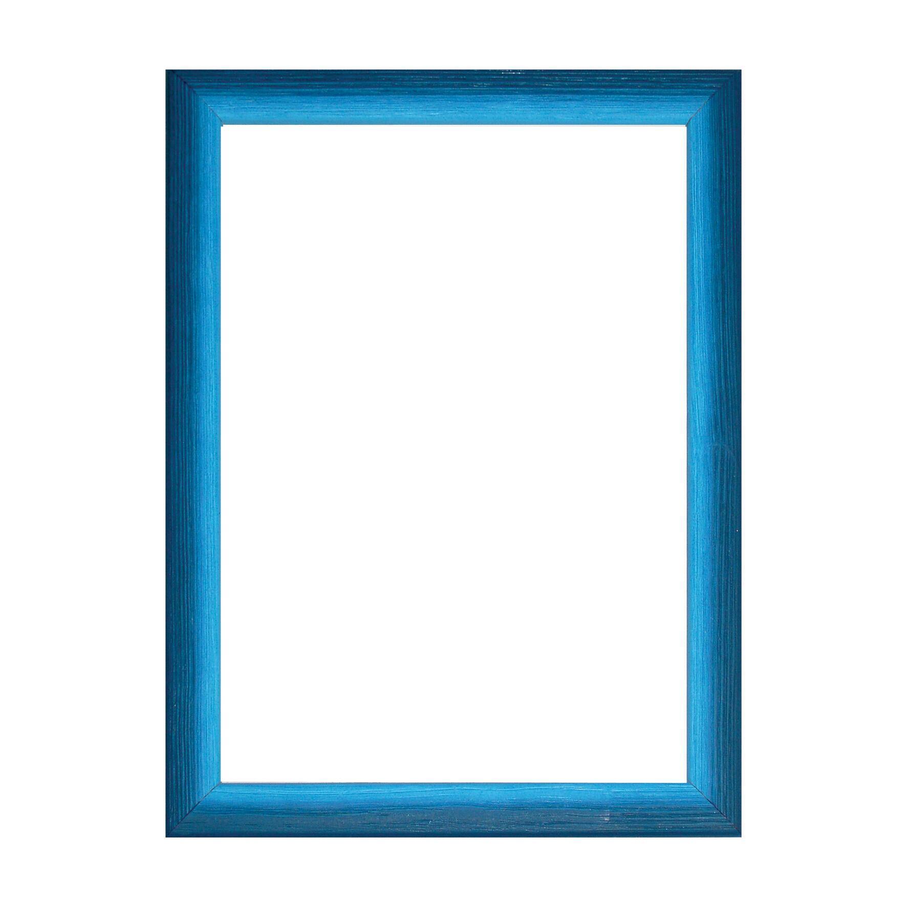 Cornice INSPIRE Bicolor azzurro<multisep/>blu per foto da 30x45 cm - 1