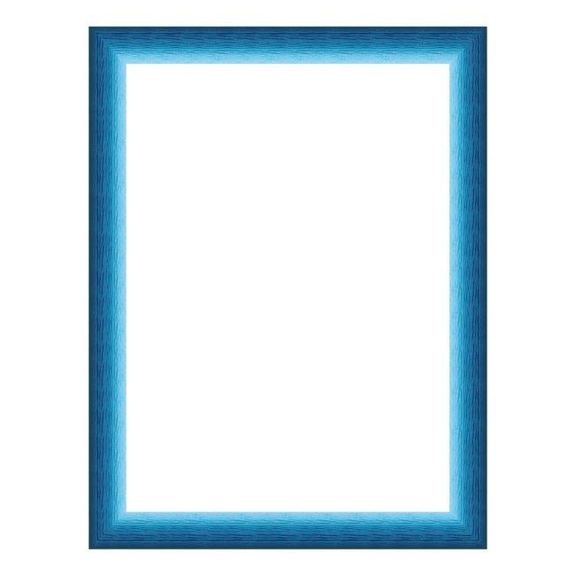 Cornice INSPIRE Bicolor azzurro<multisep/>blu per foto da 21x29.7(A4) cm - 1