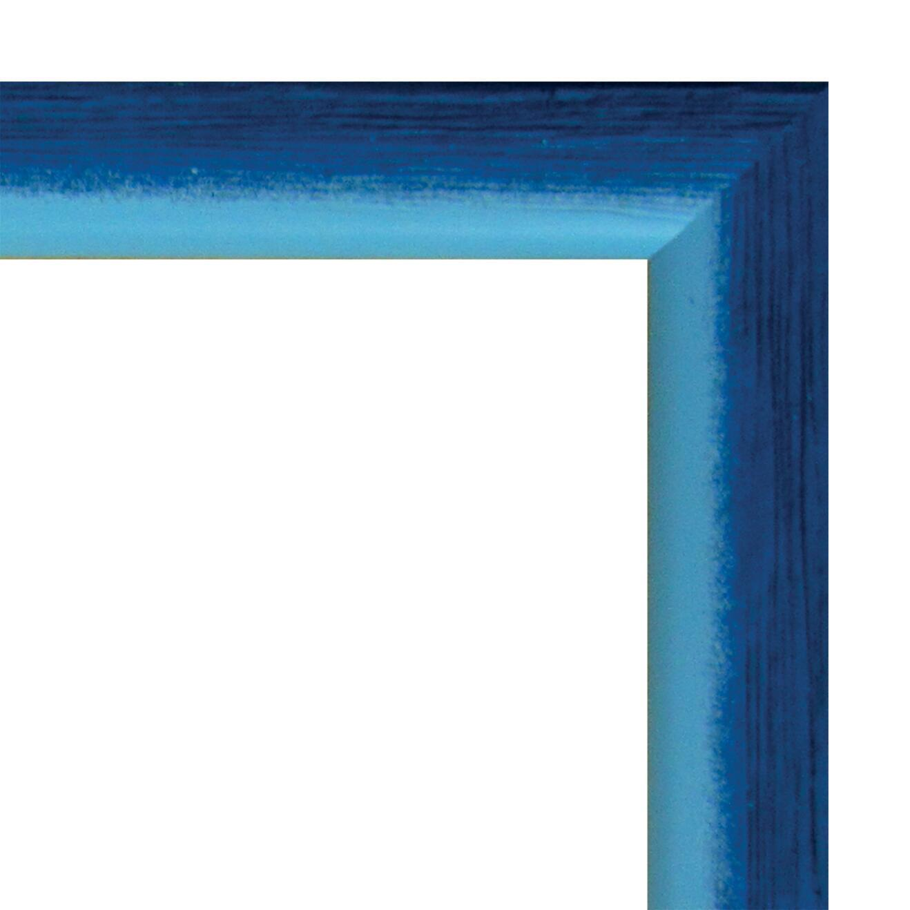 Cornice INSPIRE Bicolor azzurro<multisep/>blu per foto da 40x60 cm - 4