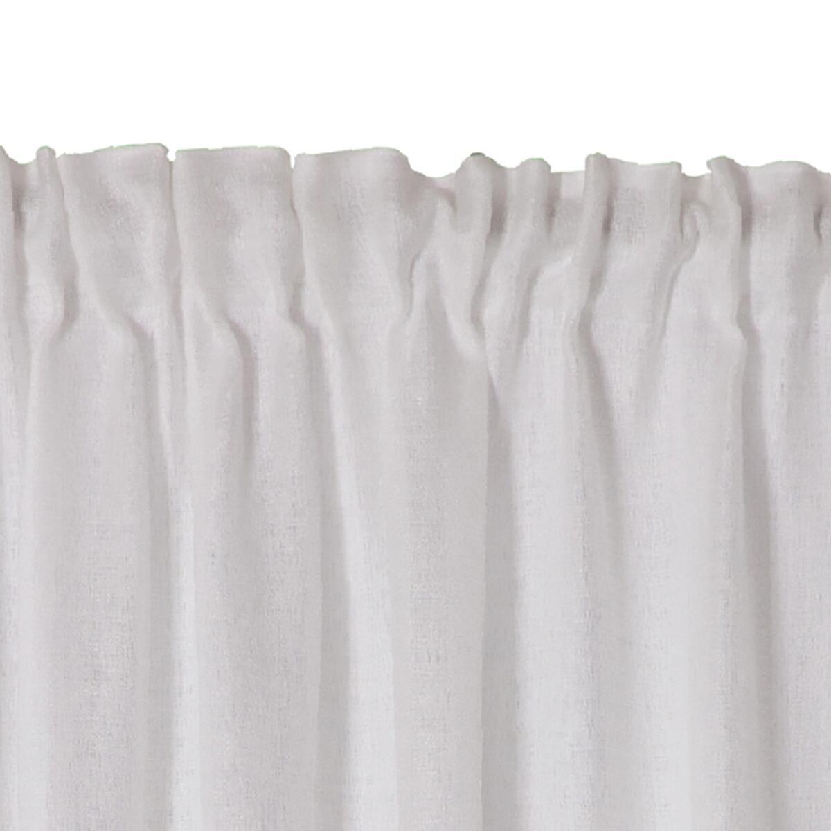 Tenda Oceania bianco fettuccia 140 x 300 cm - 5