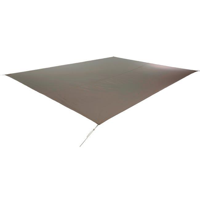Vela ombreggiante Shade rettangolare tortora 300 x 400 cm - 1