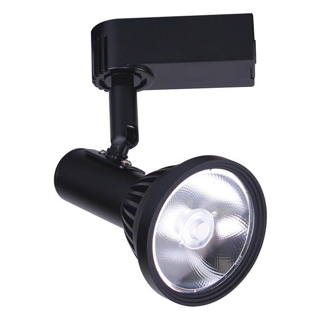 Binario Morfeo in alluminio nero LED - 1