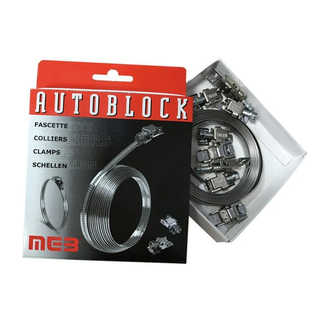 Fascetta metallica in metallo BM Autoblock 3000 x - 1