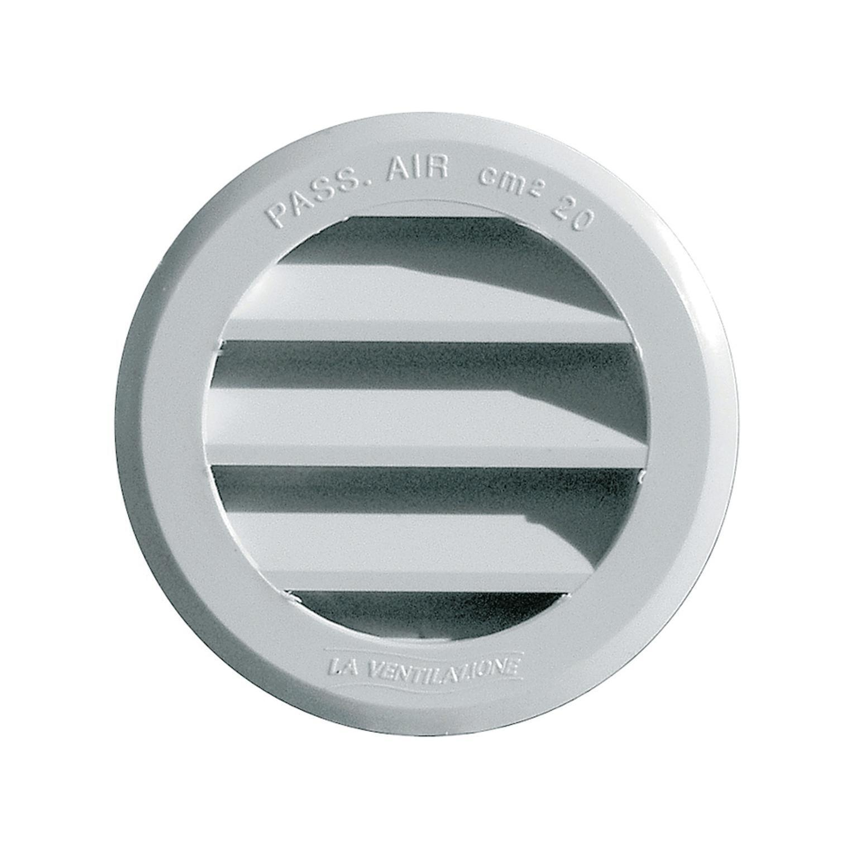 Griglia di aerazione in abs forma tondo Ø 8 cm - 1
