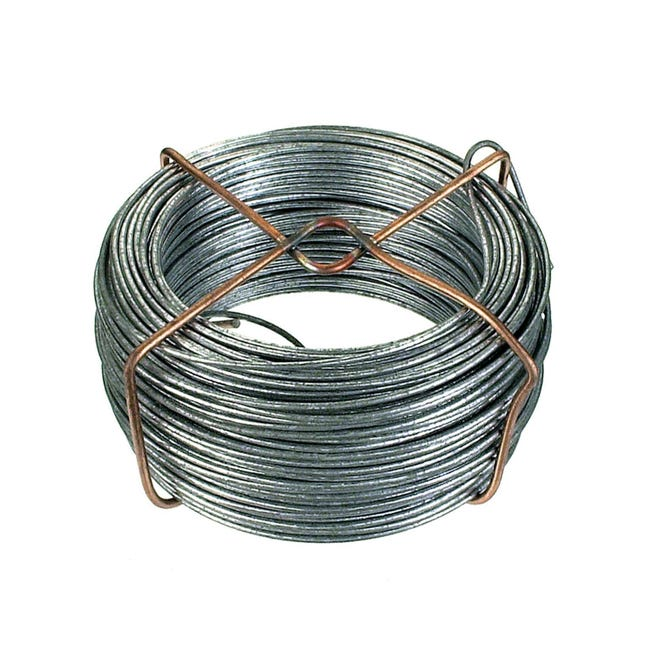Filo in ferro Ø 1.4 mm x L 40 m - 1