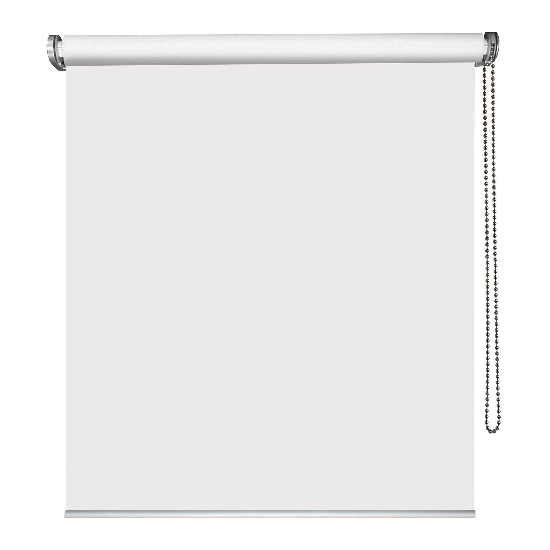 Tenda a rullo oscurante Must bianco 90 x 250 cm